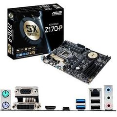Asus Z170-P Desktop Motherboard - Intel Z170 Chipset