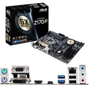 Asus Z170-P Desktop Motherboard - Intel Z170 Chipset