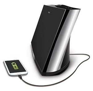 ILUV MobiAria Bluetooth Speaker with USB Charging Port
