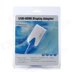 USB 3.0/2.0 to HDMI Adapter