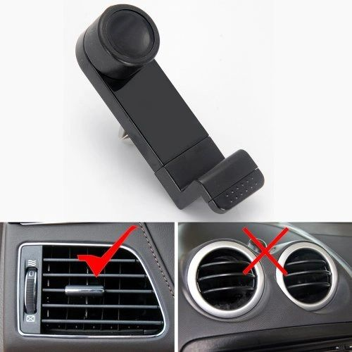 "PORTABLE ADJUSTABLE CAR AIR VENT MOUNT HOLDER 3.5"" – 6.3"" FOR MOBILE CELL"