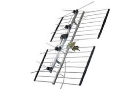 Channel Master 4221HD 4-Bay HDTV/UHF TV Antenna (CM4221HD) 65+Mi
