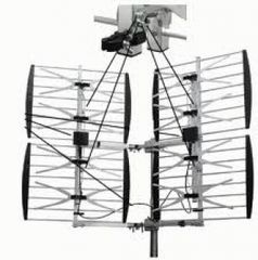 Focus Best -8HD-90D Adjustable 8 Bay Multidirectional (65+ mi/105+ km) HDTV UHF AntennaOutdoor HD TV Antenna