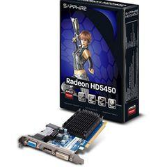 Sapphire ATI Radeon HD 5450 Silent 1GB DDR3 PCI Express 2.0