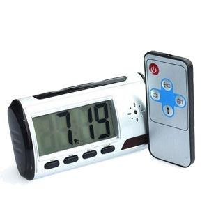 Alarm Clock with Hidden HD Camera