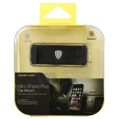 SUGENT-LD01---Baseus MiNi Shield Plus Car Mount Black