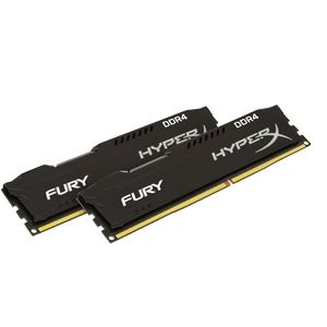 Kingston HyperX Fury 16GB (2x8G) DDR4 2400 (288-Pin) HX424C15FB2K2/16