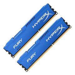 Kingston HyperX Fury Blue 16GB (2x8GB) DDR3 1600MHz CL10 DIMMs (HX316C10FK2/16)