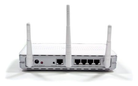 ASUS WL-566 240 MIMO WIRELESS ROUTER