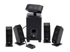Logitech X-540 5.1 Speaker System, Open Box (never used)