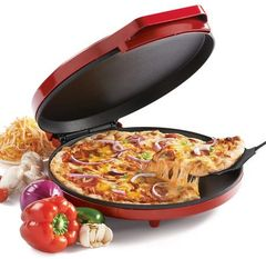 Betty Crocker BC-2957CR Pizza Maker, 10-Inch, Red