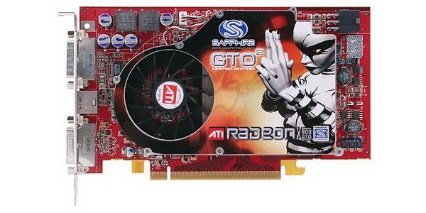 SAPPHIRE Radeon X800GTO DirectX 9 100131L 256MB 256-Bit GDDR3 PCIe Video Card