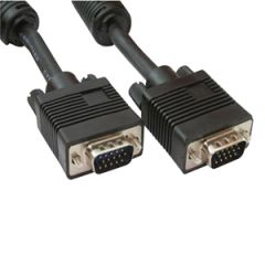 SVGA Cable Male - Male, 15 Pin - 6 Feet