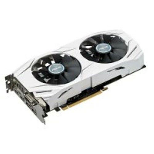 ASUS Dual GeForce GTX 1060 6GB OC (DUAL-GTX1060-O6G) - 1569MHz Base/ 1809 MHz Boost, 8008 MHz Memory Clock - PCI-E 3.0, 1X DVI-D, 2x HDMI 2.0, 2x DP