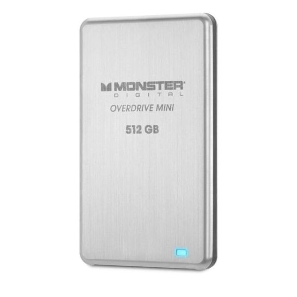 Monster Digital 512GB Overdrive USB3.0 External SSD Drive