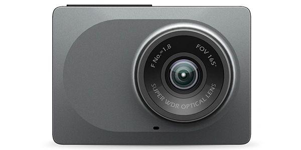 Xiaoyi Yi Smart Car DVR WiFi 165 Degree Dash Cam 1080p 2.7IN 16:9 Camcorder Car Camera - Grey