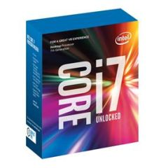 Intel Core i7-7700K Kaby Lake Quad-Core Processor Socket LGA 1151, 4.2GHz, 8MB L3 Cache, 14nm (Retail Boxed) Gen7 (BX80677I77700K