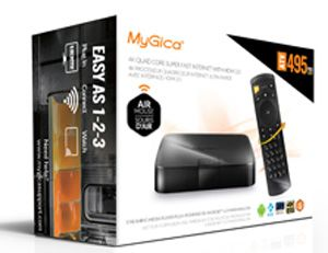 MyGica ATV-495PRO HDR Android 6.0 TV Box 4K Quad Core Smart TV Box Internet with HDMI 2.0