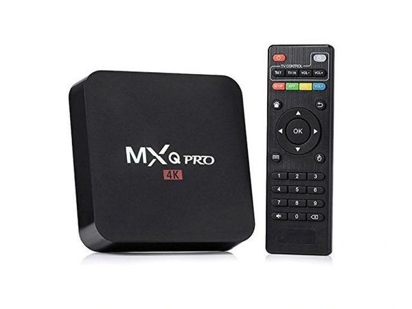 MXQ Pro Android TV Box - Amlogic S905 Chipset , Android 7.1.2 OS TV Box
