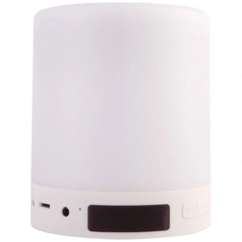 Bluetooth Smart Touch Lamp Speaker, with Alarm Clock and FM Tuner