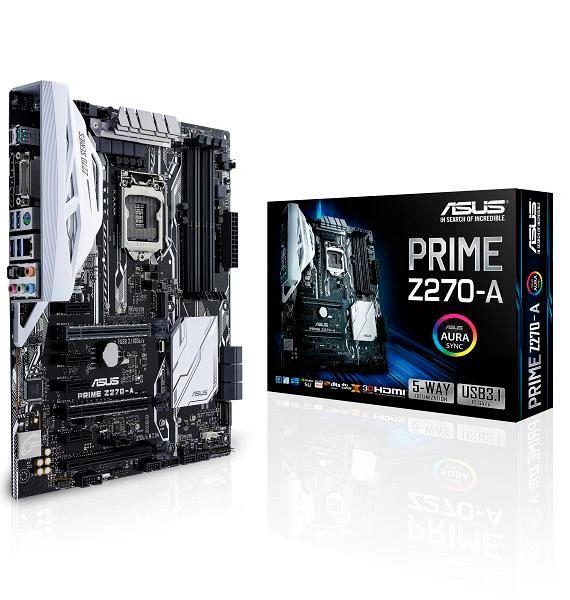 ASUS PRIME Z270-A Socket 1151 Intel Z270 Chipset