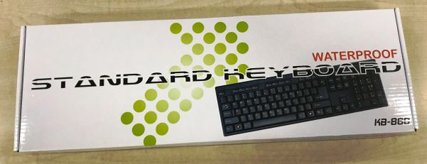 STANDARD KEYBOARD WATERPROOF KB-868