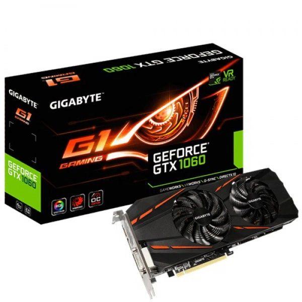 GIGABYTE GV-N1060G1GAM-6G R2 6G GDDR5