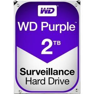 """WD Purple 2TB 3.5"""" SATA3 Surveillance WD20PURZ"""