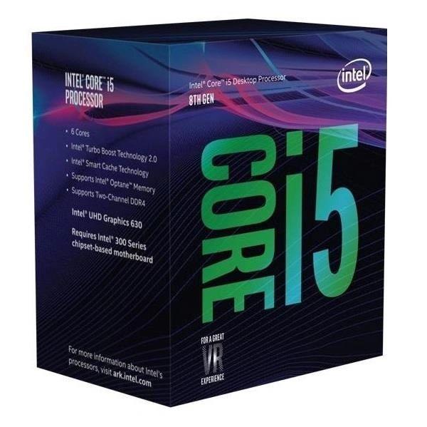Intel Core i5-8400 Coffee Lake 6-Core/6-Thread Processor