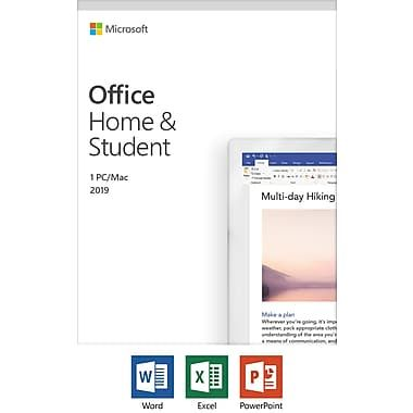 Microsoft Office Home and Student 2019 Medialess