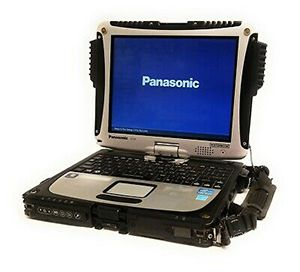 Panasonic Toughbook CF-19, Intel i5-3340M, 8GB, Touchscreen
