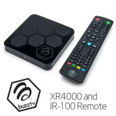 BuzzTV XR4000 Android IPTV OTT HD 4K TV Box