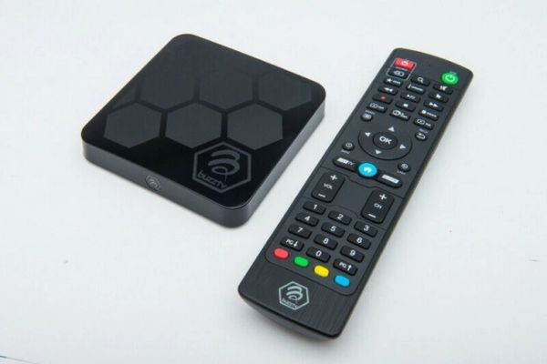 BUZZTV XRS-4000 4K Android 9 IPTV Media Box- 4GB/32G Quad Core