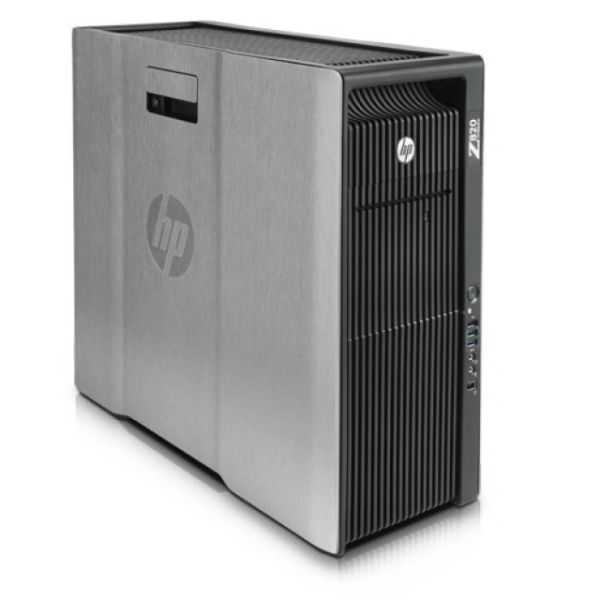 HP Z820 Workstation Tower - 2X Intel Xeon 8 Core E5-2680/ 2.7Ghz, 64G DDR3,500GB