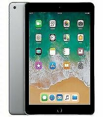 """Apple iPad 6 9.7"""" 128GB with Wi-Fi + Cellular 4G LTE - Space Grey (6th Generation"""