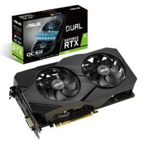 ASUS Dual GeForce RTX™ 2060 OC Edition EVO 6GB GDDR6