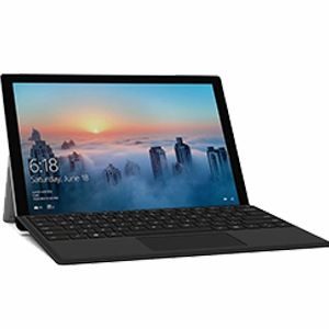 "Microsoft Surface Pro 5 12.3"" (1796) Intel Core i5 (7th Gen) 2.6Ghz, 256GB SSD, 8GB RAM w/ Surface Keyboard - Refurbished"