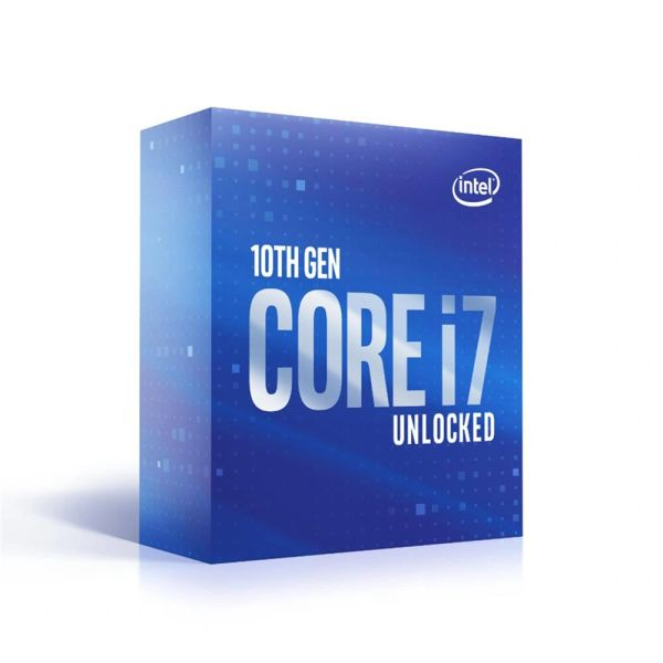 Intel Core i7-10700K 8-Core 16-Thread Desktop Processor Unlocked - Socket LGA 1200 (400 Series)