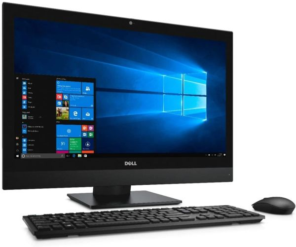 "Dell OptiPlex 7450 All-in-One Desktop PC - Intel Core i5-7500 3.4 GHz Quad-Core Processor - 8 GB Ram, 120GB SSD HAR Drive, WIFI, 23"" WIN 10 PROFESSIONAL REFURBISHED"