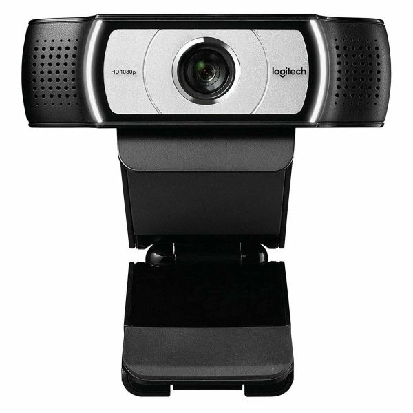 Logitech C930e Business Webcam 1080p with wide field of view and digital zoom