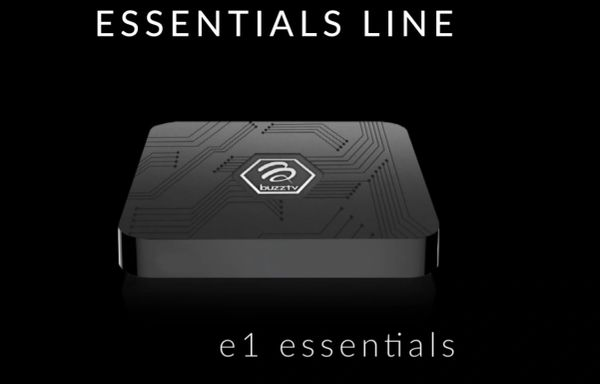 Buzztv Essentials E1 - Android 7.1 Android Set-Top Box
