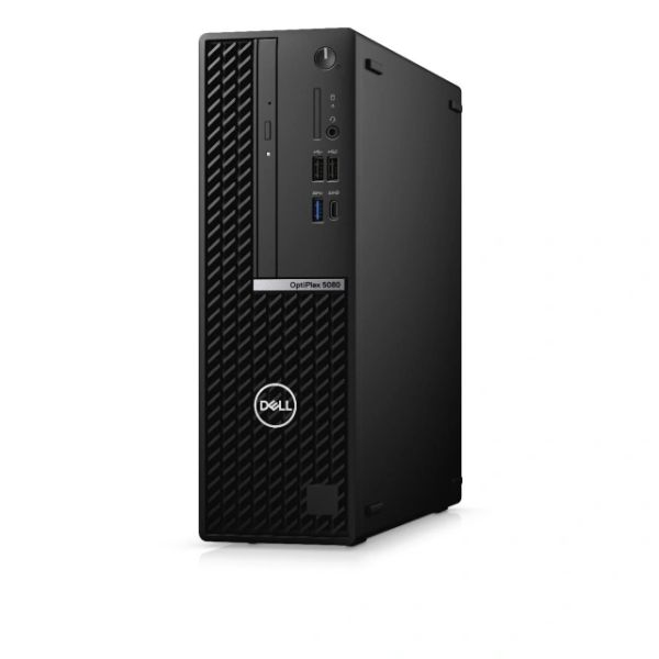 Dell OptiPlex 5080 - SFF - Core i7 10700 / 2.9 GHz - RAM 16 GB - SSD 256 GB - NVMe, Class 40 - UHD Graphics 630 - GigE - Win 10 Pro 64-bit - monitor: none - BTS - with 3 Years Hardware Service with Onsite/In-Home Service After Remote Diagnosis - CMN63