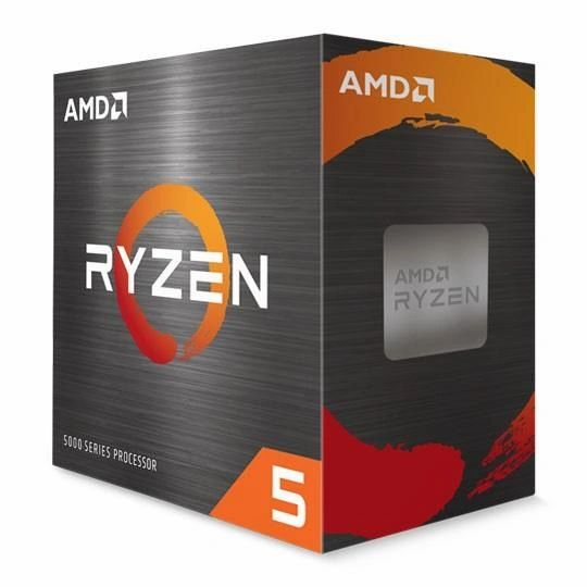 AMD Ryzen 5 5600X 6-Core/12-Thread 7nm ZEN 3 Processor - Socket AM4 3.7GHz base, 4.6GHz boost, 65W Wraith Stealth Cooler 100-100000065BOX