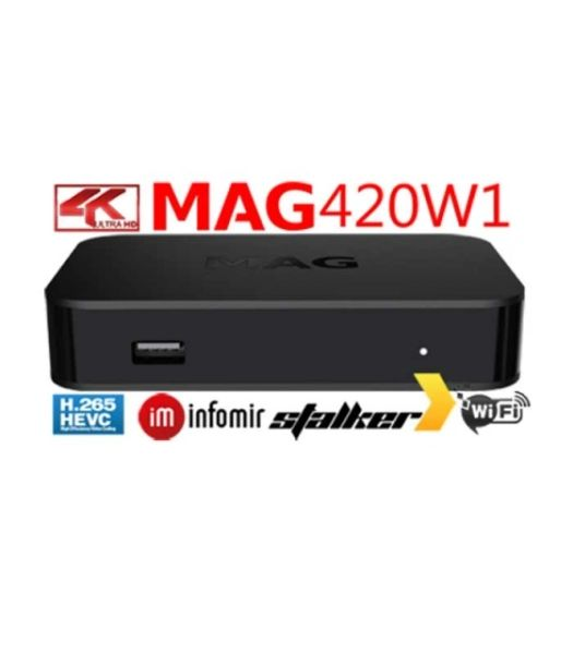 NEW Infomir MAG420w1 4K IPTV SET-TOP BOX