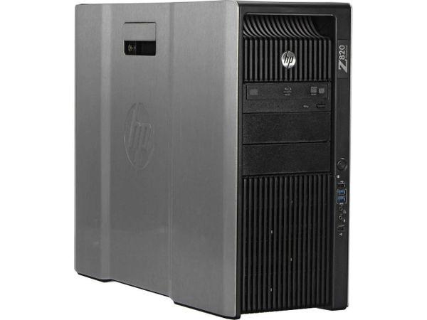 HP Z 820 Workstation Tower 2X Intel Xeon 8 Core E5-2680-2.7Ghz, 64GB DDR3,500GB DVD-RW,Quadro K4000 4GB ,Win 10 PRO Refurbished