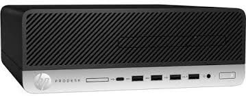 HP ProDesk 600 G4 SFF Commercial Desktop PC, Intel Core i5-8500 CPU, 8GB RAM, 1TB HDD, 64-bits Windows 10 Pro Refurbished