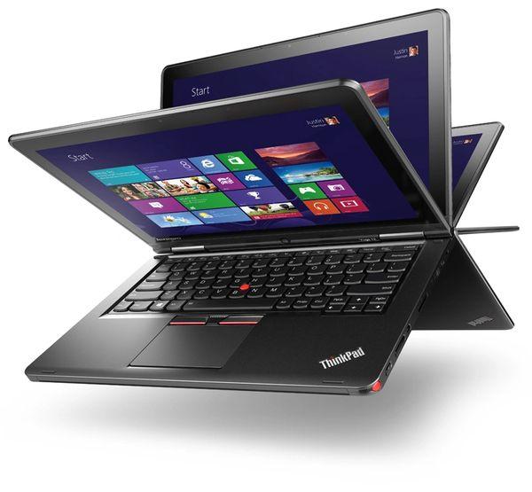 "Lenovo ThinkPad Yoga 12 Touchscreen 2-IN-1 Ultrabook - Intel Core i5- 5300U 2.3Ghz,8GB,128GB SSD ,12.5"",Windows 10 PRO Refurbishd"