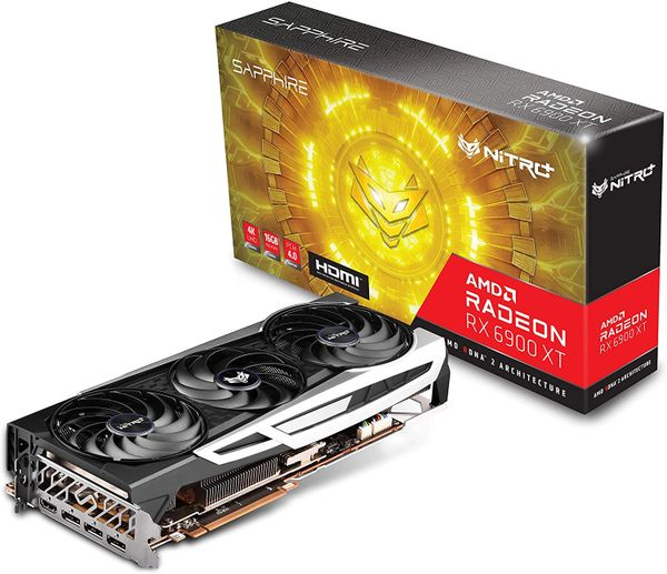 SAPPHIRE NITRO+ AMD RADEON RX 6900 XT OC Gaming Graphics Card WITH 16GB GDDR6, 11308-01-20G