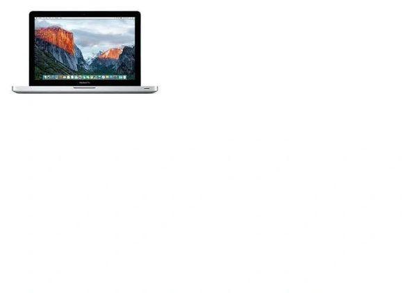 "Apple MacBook Pro (A1278) 13.3"" (Intel Core i5-3210M, 8GB RAM, 500GB HD, DVDRW, Webcam, OSX 10.15) - (2012)"