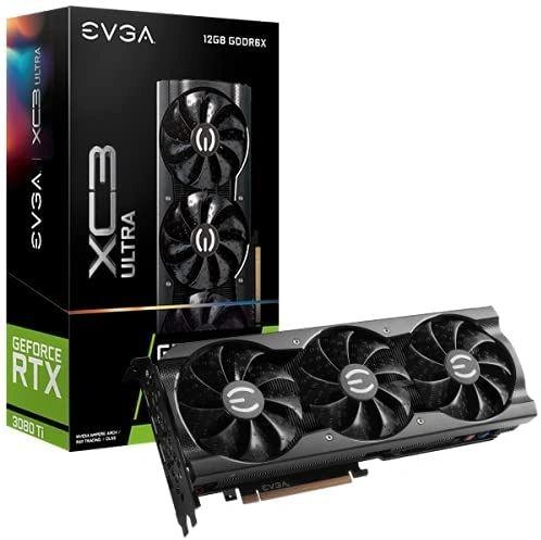 EVGA GeForce RTX 3080 Ti XC3 Ultra Gaming, 12G-P5-3955-KR, 12GB GDDR6X
